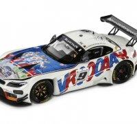 MINIATURA BMW Z4 GT3 MICHEL VAILLANT 80432454834 skala 1:18