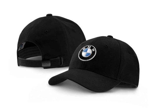 CZAPKA Z DASZKIEM Z LOGO BMW (ONE SIZE, 58CM), CZARNA zdjecie 1