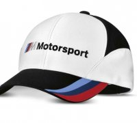 CZAPKA BMW M MOTORSPORT FAN, UNISEKS (M-L) 80162463073